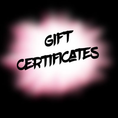 gift certificate text