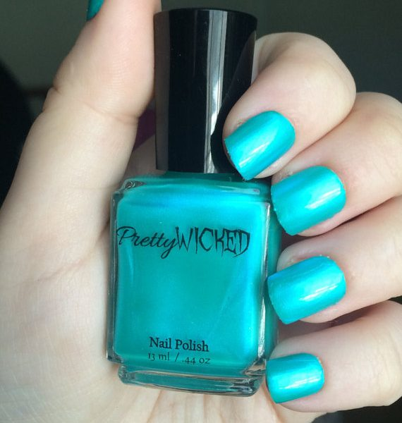 Aqua Nail Polish, Talulah Polish