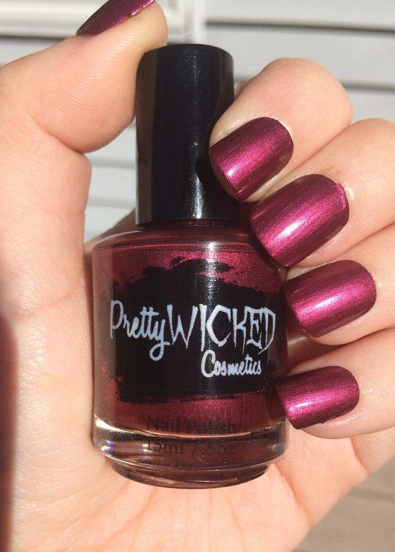Berry Nail Polish, Sabrina Polish