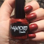 Blood Red Nail Polish - Jezebel Polish - Red Nail Polish - Dark Red Nail Polish - Creme Nail Polish - Indie Nail Lacquer -