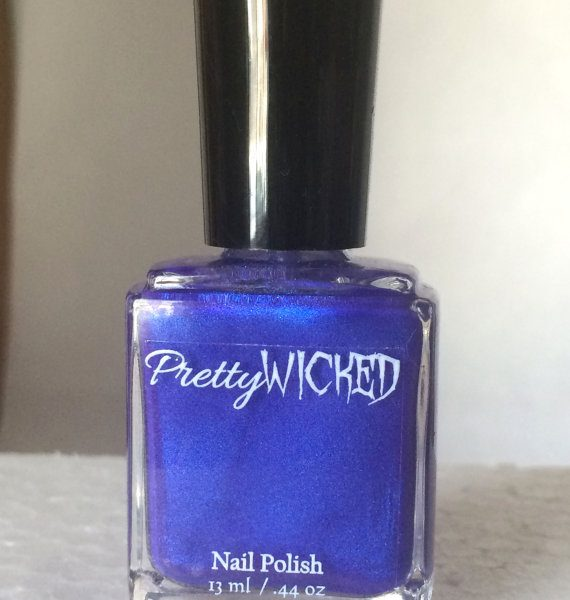 Blue/Pink Thermal Nail Polish - Demeter Polish - Color Changing Nail Polish - Royal Blue Nail Lacquer - Indie Nail Lacquer - Purple Polish