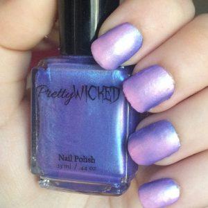 Blue/Pink Thermal Nail Polish, Persephone Polish
