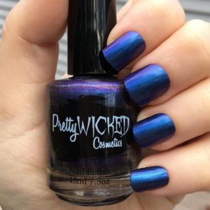 Blue/Purple Duochrome Nail Polish, Octavia Polish