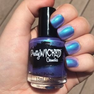 Blue/Purple Thermal Nail Polish, Daphne Polish