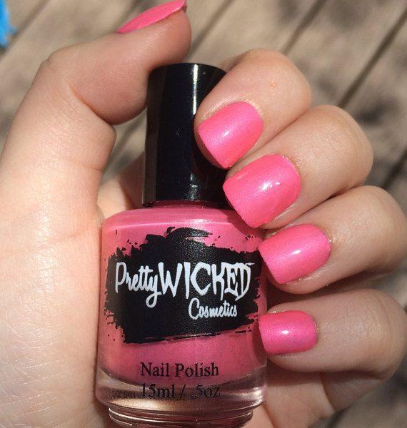Bubblegum Pink Nail Polish, Mimi Polish