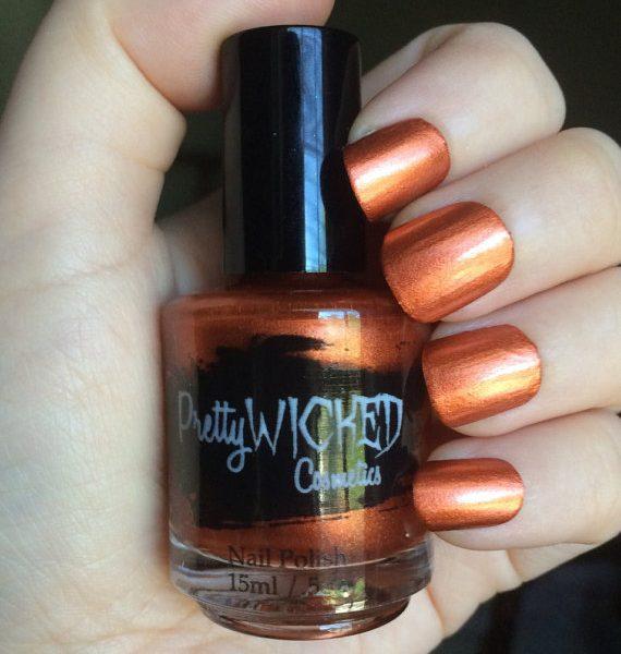 Copper Nail Polish, Donna Polish