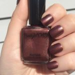 Dark Brownish Red Nail Polish, Xanthe Polish