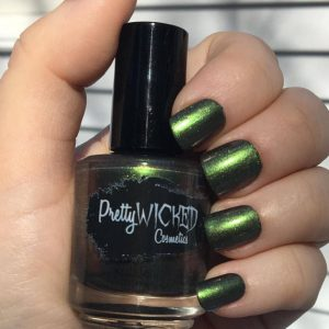 Dark Green Nail Polish, Faye Polish