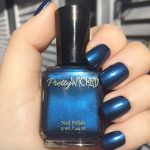 Dark Prussian Blue Nail Polish, Cordelia Polish