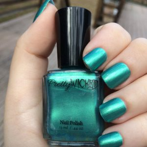 Greenish Blue Nail polish, Eden Polish