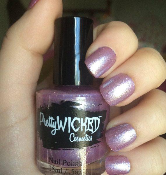Lilac Shimmer Nail Polish, Penelope Polish