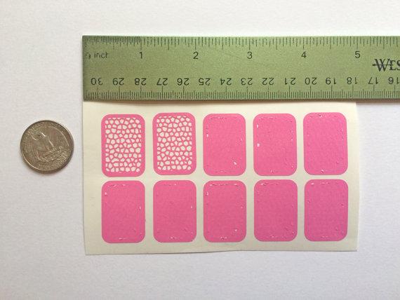 Mosaic Nail Stencils, Mosaic Nail Guides