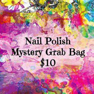 Nail Polish Mystery Grab Bag, Nail Polish Subscription Box