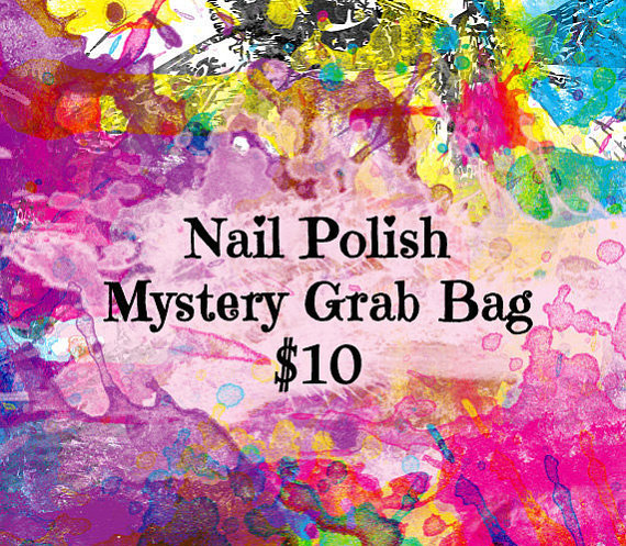 Nail Polish Mystery Grab Bag, Nail Polish Subscription Box