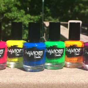 Neon Nail Polish Set, Neon Nail Polish Bundle