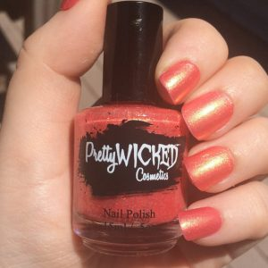 Orange Gold Nail Polish, Wanda Polish