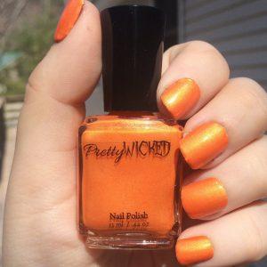 Orange Nail Polish, Verruca Polish