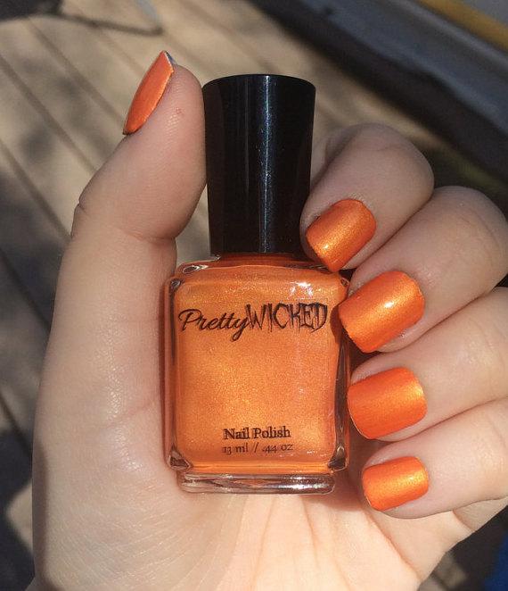 Acid Yellow Nail Polish: Orange-nail-polish-verruca-polish-59aec6a94.jpg