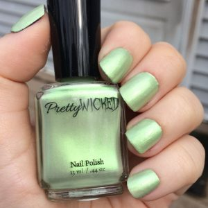 Pastel Mint Green Nail Polish, Eve Nail Polish
