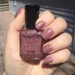 Pink Holographic Nail Polish, Anastasia Polish