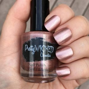 Pinkish Beige Nail Polish - Elora Polish - Pink Nail Polish - Beige Nail Polish - Dusty Rose Nail Polish - Khaki Rose Nail Polish