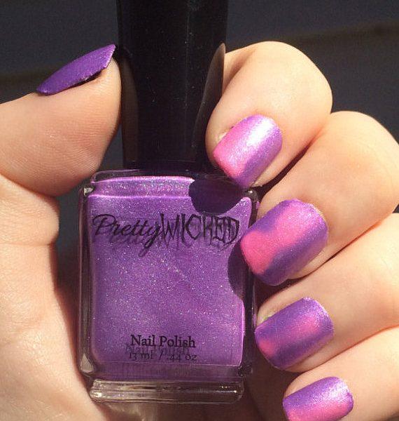 Pink/Purple Thermal Nail Polish, Aphrodite Polish