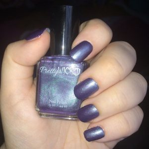Purple and Green Chameleon Polish, Color Shifting Nail Polish