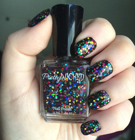 Rainbow Holographic Nail Polish Dottie Polish 59aec3c53 Jpg
