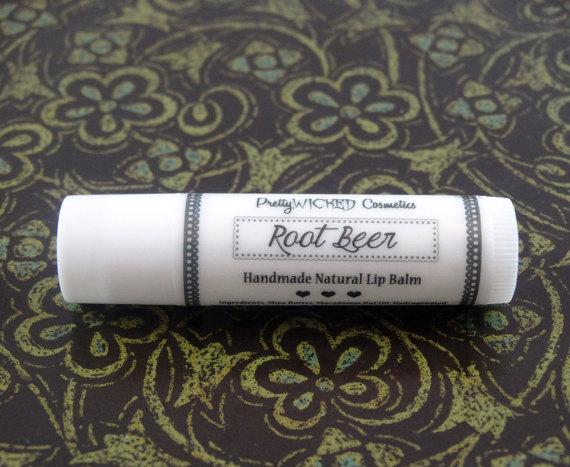 Root Beer Lip Balm, Unflavored Lip Balm