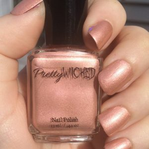 Rose Gold Nail Polish - Millie Polish - Rose Gold - Pink and Gold Nail Polish - Peach Nail Polish - Champagne Nail Polish - Rose Gold Polish