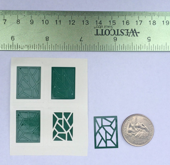 Shard Nail Guides, Vinyl Nail Decals