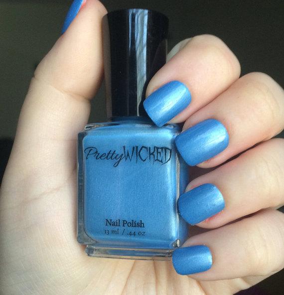 Sky Blue Nail Polish, Tina Polish