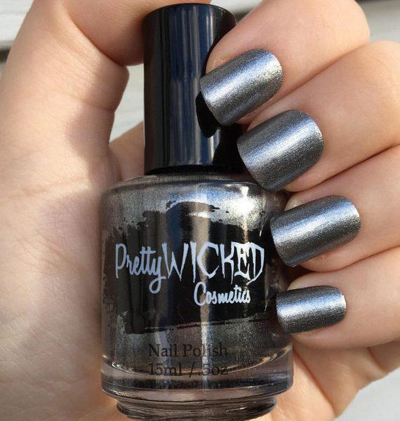 Steel Silver Gray Polish, Belinda Polish