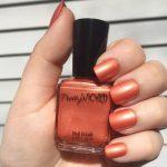 Tangerine Nail Polish, Astrid Polish